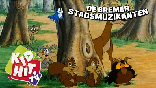 Bremer Stadsmuzikanten 04 De vrienden van het woud